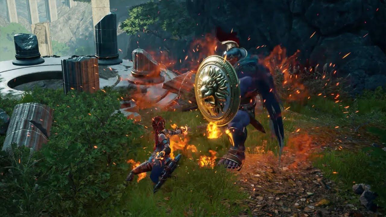 Новый RPG-экшен Asterigos: приключение в мифическом антураже