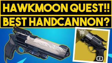 Destiny 2 Hawkmoon: как получить экзотическую ручную пушку